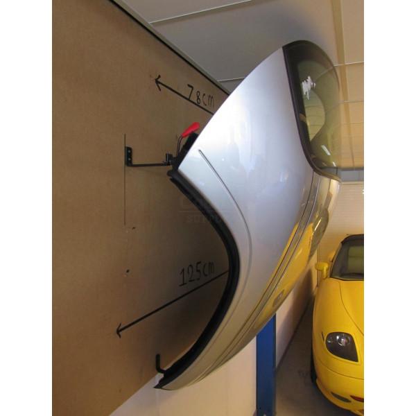 BMW E30 Cabrio Hardtop Wandbeugels