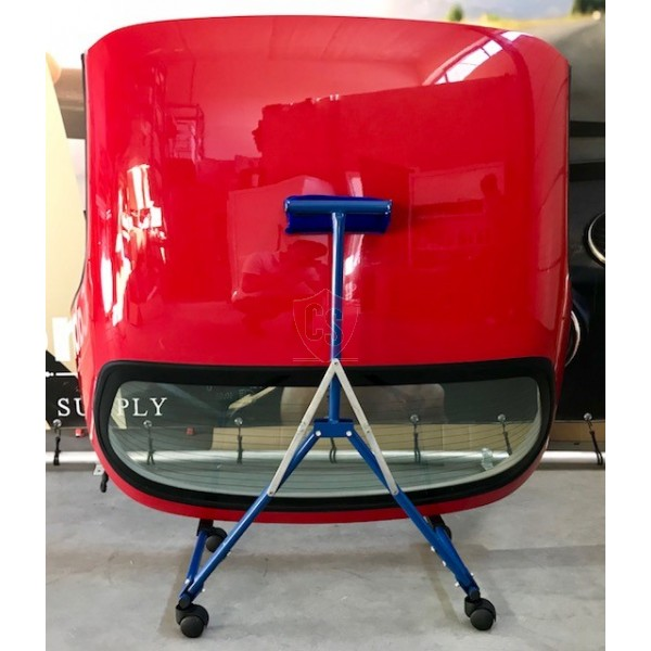 Opvouwbare hardtop trolley | stallingsbok