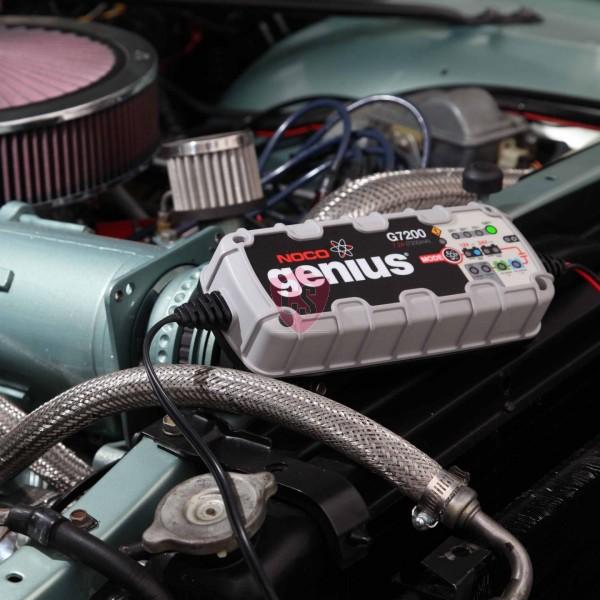 Acculader - NOCO GENIUS G7200EU - Laadstroom Max. 7,2A
