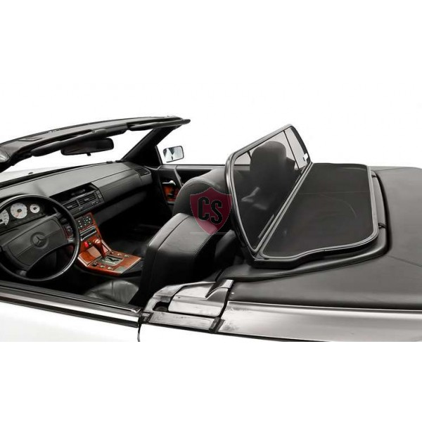 Mercedes-Benz SL-klasse R129 Aluminium Windscherm - Zwart 1989-2001