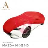 Mazda MX-5 ND Autohoes - Maatwerk - Rood