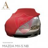 Mazda MX-5 NA Indoor Autohoes - Maatwerk - Rood
