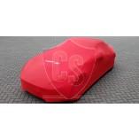 Mazda MX-5 NC Indoor Autohoes met logo - Maatwerk - Rood