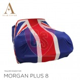 Morgan Plus 8 Autohoes - Maatwerk - Union Jack