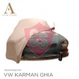 Volkswagen Karmann Ghia Indoor Autohoes - Maatwerk - Wit
