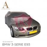 BMW 3 Serie Cabrio E93 Indoor Autohoes - Maatwerk - Zilvergrijs