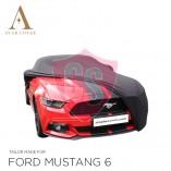 Ford Mustang 6 2014-2019  Indoor Autohoes - Zwart