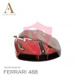 Ferrari 488 Autohoes - Maatwerk - Zilvergrijs