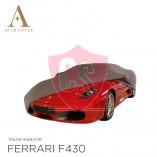 Ferrari F430 Autohoes - Maatwerk - Zilvergrijs