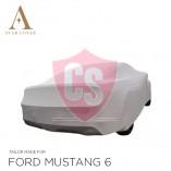Ford Mustang 6 2014-2019  Indoor Autohoes - Zilvergrijs