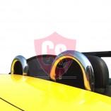 Fiat Barchetta Windscherm voor Rolbeugel - Zwart 1995-2005