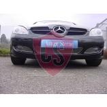 Mercedes-Benz SLK R171 RVS Koelgril (3-delig) 2004-2008