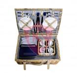 Cabrio picknickmand voor 4 personen