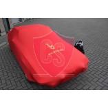 Fiat X 1/9  Indoor Autohoes - Bertone Opdruk - Rood