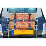 Bagagerek rieten koffer
