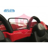Ferrari 360 & F430 Spider Windscherm (Midden) - Zwart 2000-2009