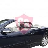 Mercedes-Benz C-Klasse CLK A208 Aluminium Windscherm - Zwart 1998-2003
