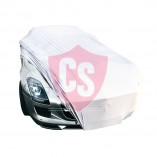 Mercedes-Benz SLS AMG Coupe & Roadster Indoor Autohoes - Zilvergrijs