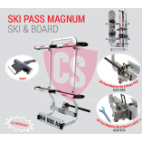 Ski Pass Magnum - Schnellverschluss