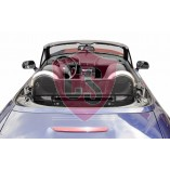 BMW Z3 RVS rolbeugel + windscherm 1995-2003