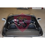 Toyota MR2 W3 rolbeugel + windscherm BLACK EDITION 1999-2006