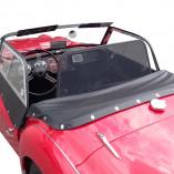 Triumph TR3 Windscherm - Zwart 1955-1962