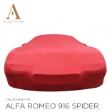 Alfa Romeo 916 Spider Indoor Autohoes - Maatwerk - Rood