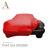 Fiat 124 Spider 1966-1985 Autohoes - Maatwerk - Rood