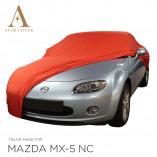 Mazda MX-5 NC Indoor Autohoes - Maatwerk - Rood