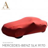 Mercedes-Benz SLK R170 Indoor Autohoes - Maatwerk - Rood