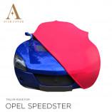 Opel Speedster Indoor Autohoes - Maatwerk - Rood