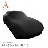 Mazda MX-5 NC Indoor Autohoes - Maatwerk - Zwart