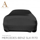 Mercedes-Benz SLK R170 Indoor Autohoes - Maatwerk - Zwart