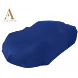 Fiat X 1/9  Indoor Autohoes - Bertone Opdruk - Blauw