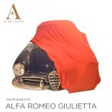 Alfa Romeo Giulietta Spider Indoor Autohoes - Maatwerk - Rood
