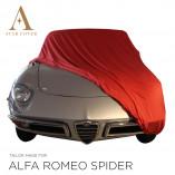 Alfa Romeo Spider 105 115 Indoor Autohoes - Maatwerk - Rood