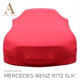 Mercedes-Benz SLK SLC R172 Indoor Autohoes - Maatwerk - Rood