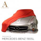 Mercedes-Benz 300SL Coupe Autohoes - Maatwerk - Rood