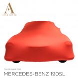Mercedes-Benz 300SL Roadster Autohoes - Maatwerk - Rood