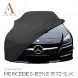 Mercedes-Benz SLK SLC R172 Indoor Autohoes - Maatwerk - Zwart