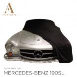 Mercedes-Benz 300SL Coupe Autohoes - Maatwerk - Zwart