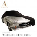Mercedes-Benz 300SL Roadster Autohoes - Maatwerk - Zwart