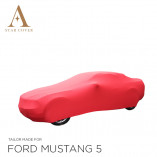 Ford Mustang 5 2005-2014  Indoor Autohoes - Rood