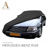 Mercedes-Benz R129 SL Indoor Autohoes - Maatwerk - Zwart