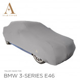 BMW 3 Serie Cabrio E46 Indoor Autohoes - Maatwerk - Zilvergrijs