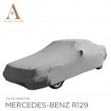 Mercedes-Benz SL R129 Indoor Autohoes - Maatwerk - Zilvergrijs