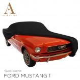 Ford Mustang Cabriolet Indoor Autohoes - Zwart
