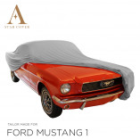 Ford Mustang Cabrio Indoor Autohoes - Grijs