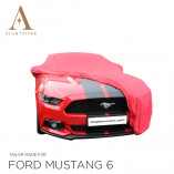 Ford Mustang 6 2014-heden  Indoor Autohoes - Rood