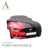 Ford Mustang 6 2014-heden  Indoor Autohoes - Zwart